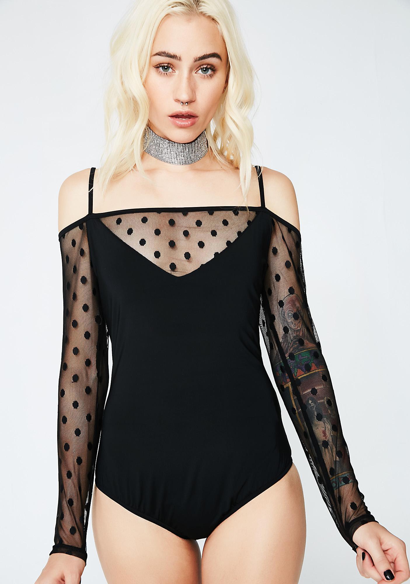 Glamorous Spotty Mess Bodysuit