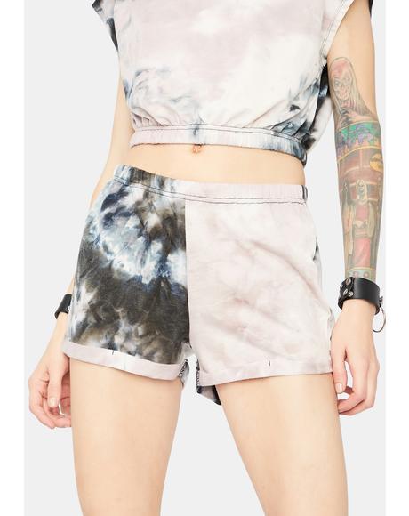 Adapting Fierce Tie Dye Lounge Shorts