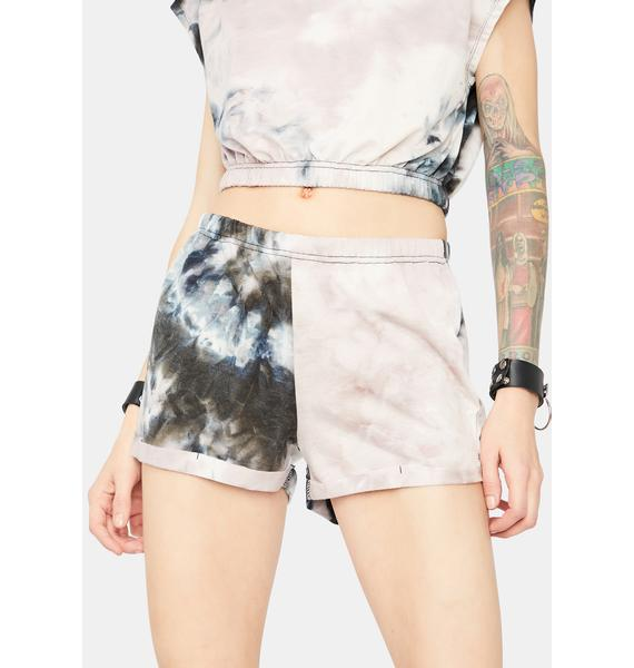 Adapting Fierce Tie Dye Lounge Shorts