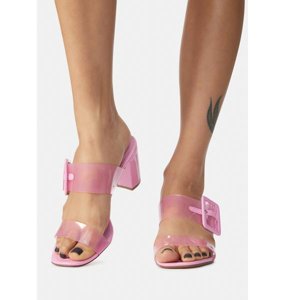 Chinese Laundry Yippy Clear Slide Sandals