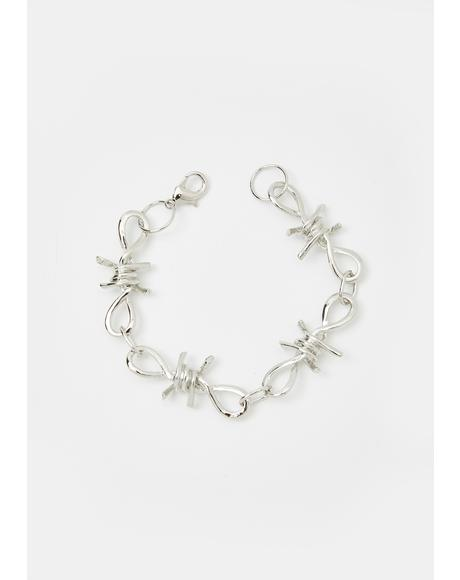 Criminal Escape Barbed Wire Bracelet