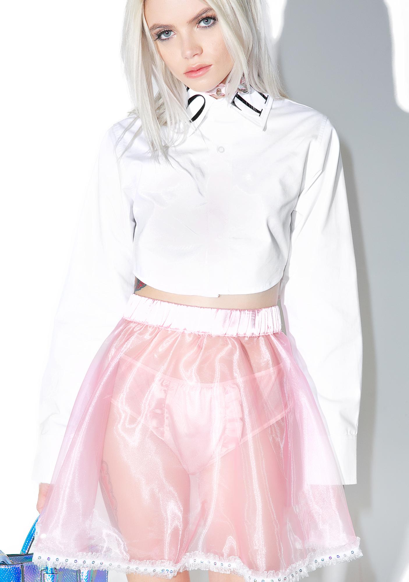 Melonhopper Surprise Sheer Skirt
