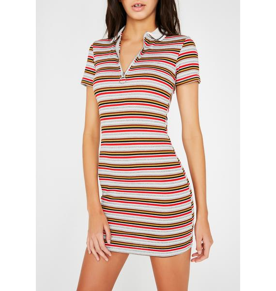 Country Clubbin' Polo Dress