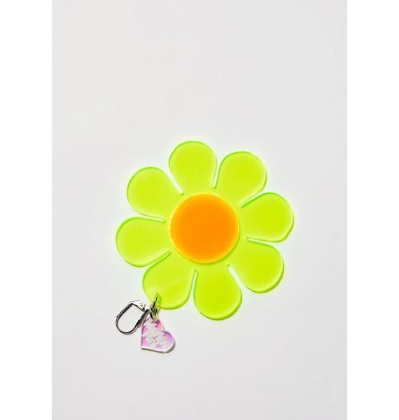 Marina Fini Neon Flower Power Earrings