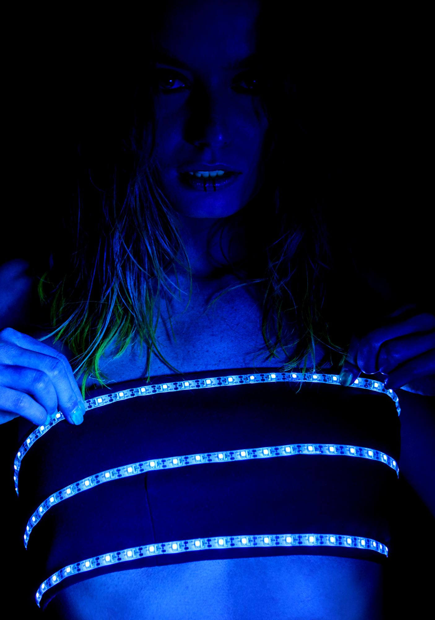 Club Exx Robotica Light Up Tube Top