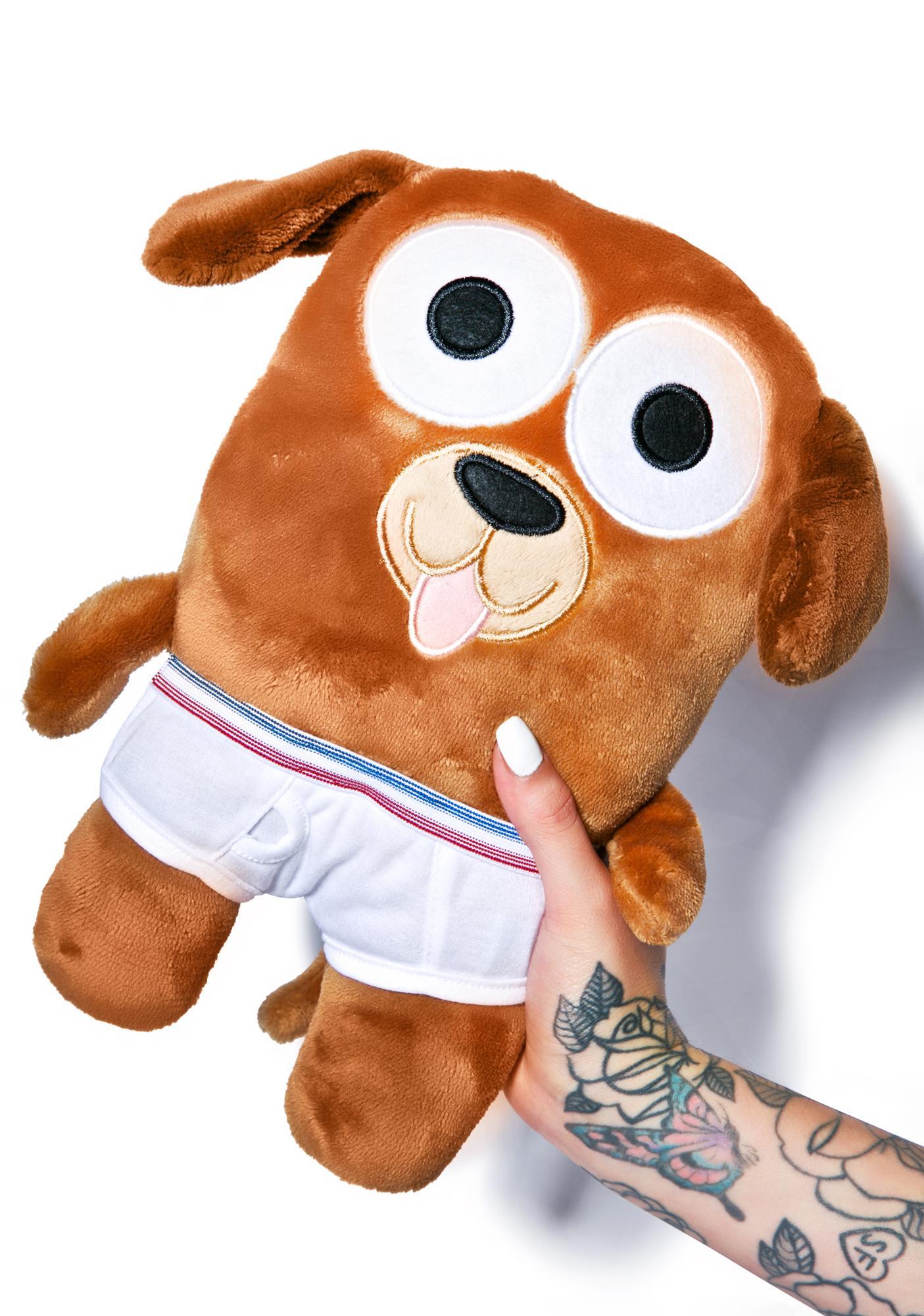 Bailey Dog in Undies Plush