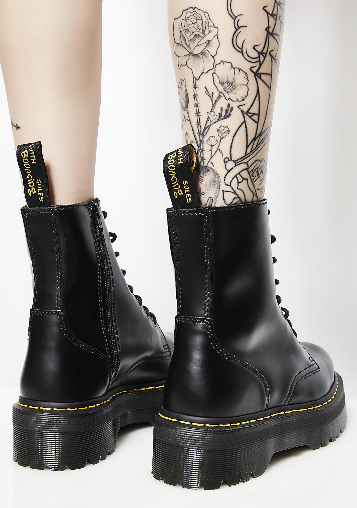 Dr Martens Jadon Platform 8-Eye Boots discount affordable qAhv9Qo