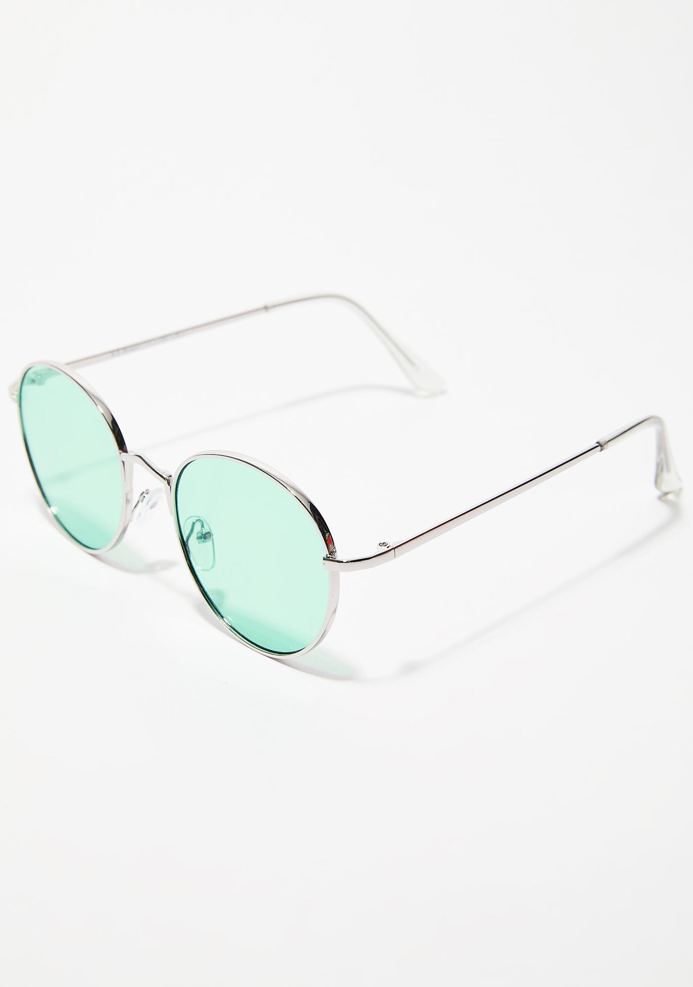 Kush Pay Me Round Sunglasses