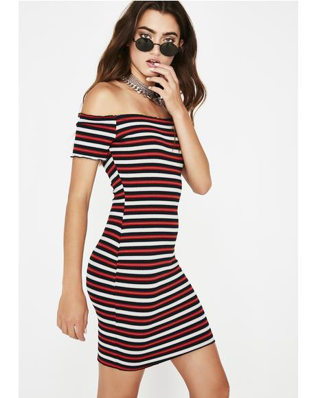 Get At Me Stripe Dress