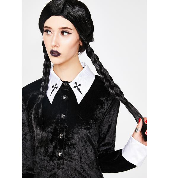 Evil Child Braided Wig