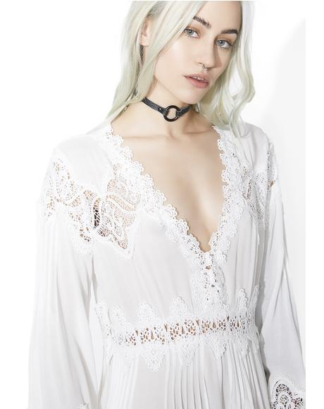 Supernature Lace Bell Sleeve Dress
