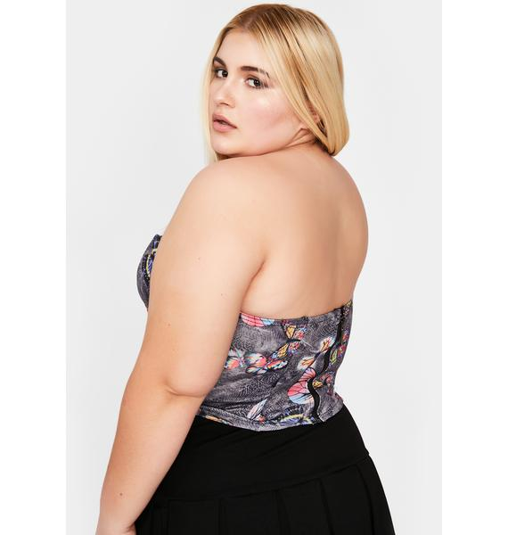 Goin' Straight To Bliss Corset Top