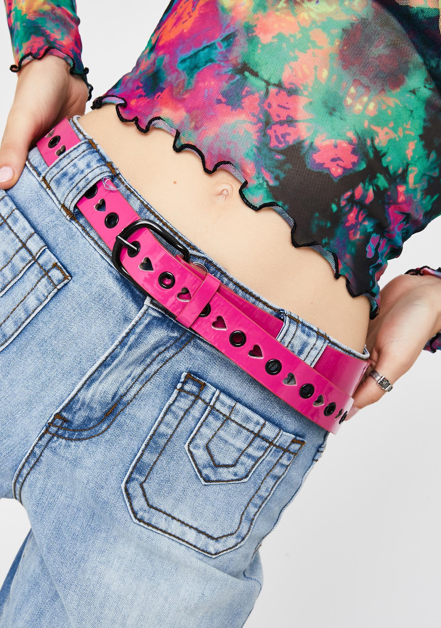 Tough Luv Vegan Leather Belt