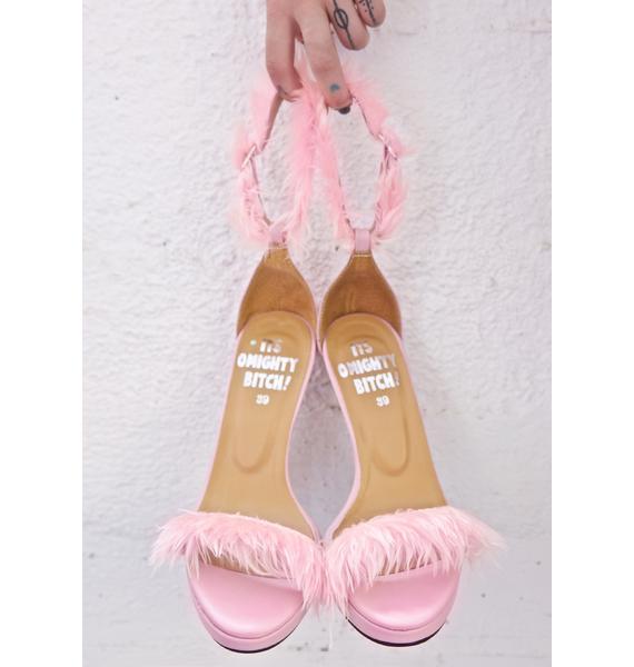 O Mighty Pynk Furbae Heels