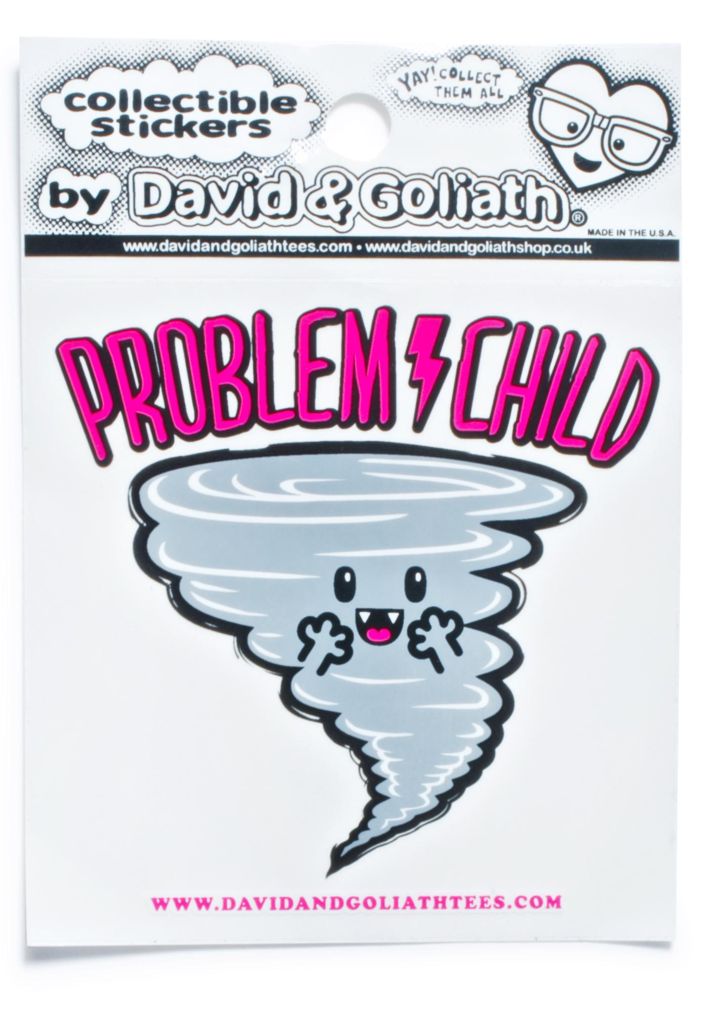 Problem Child Sticker