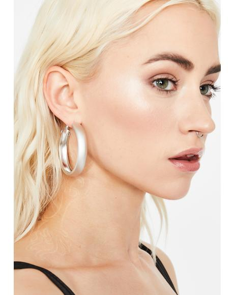 GNO Needed Hoop Earrings