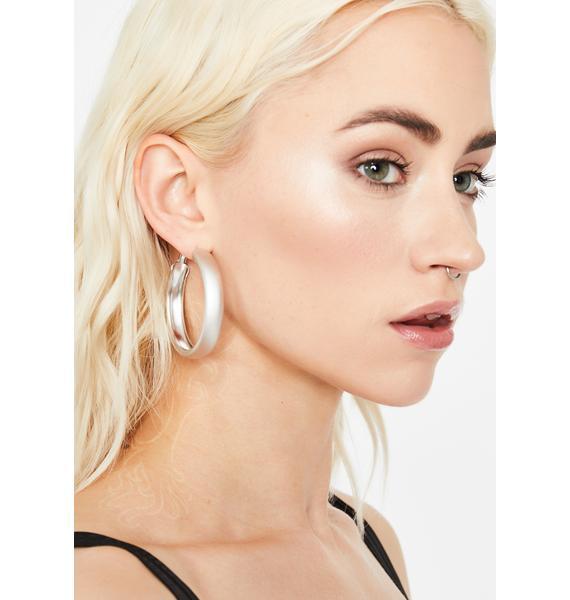GNO Needed Hoop Earrings