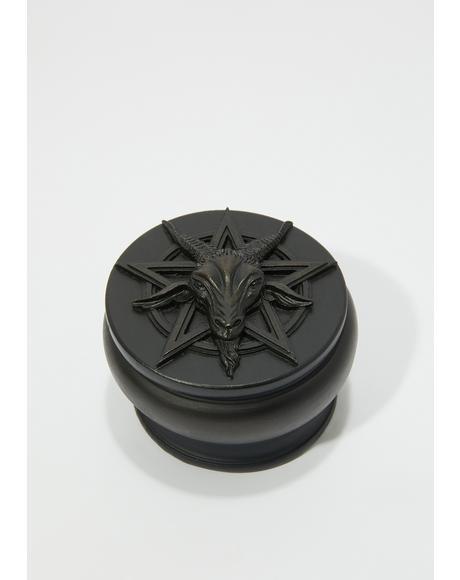 Black Baphomet Box