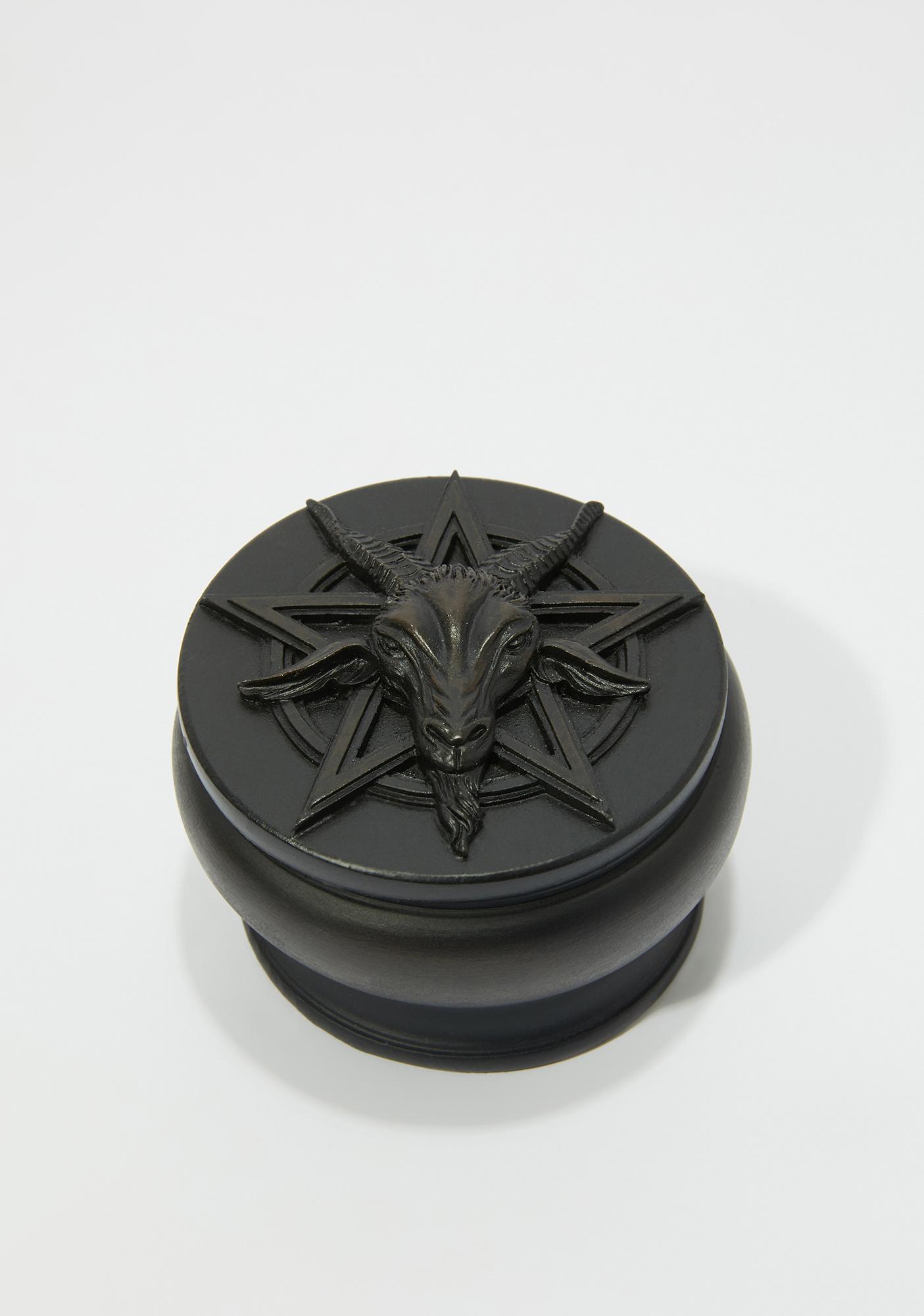 Alchemy England Black Baphomet Box