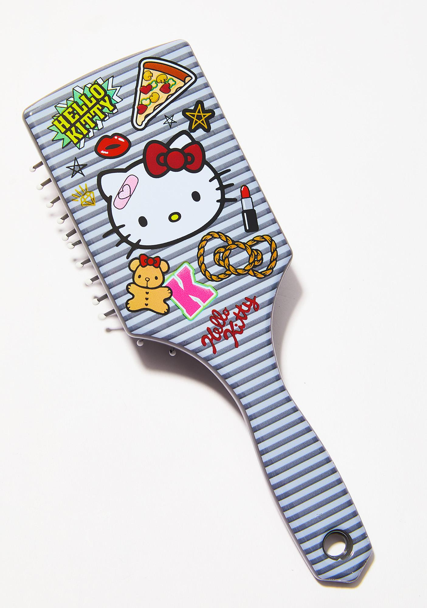 Sanrio Hello Kitty Patch Hair Brush