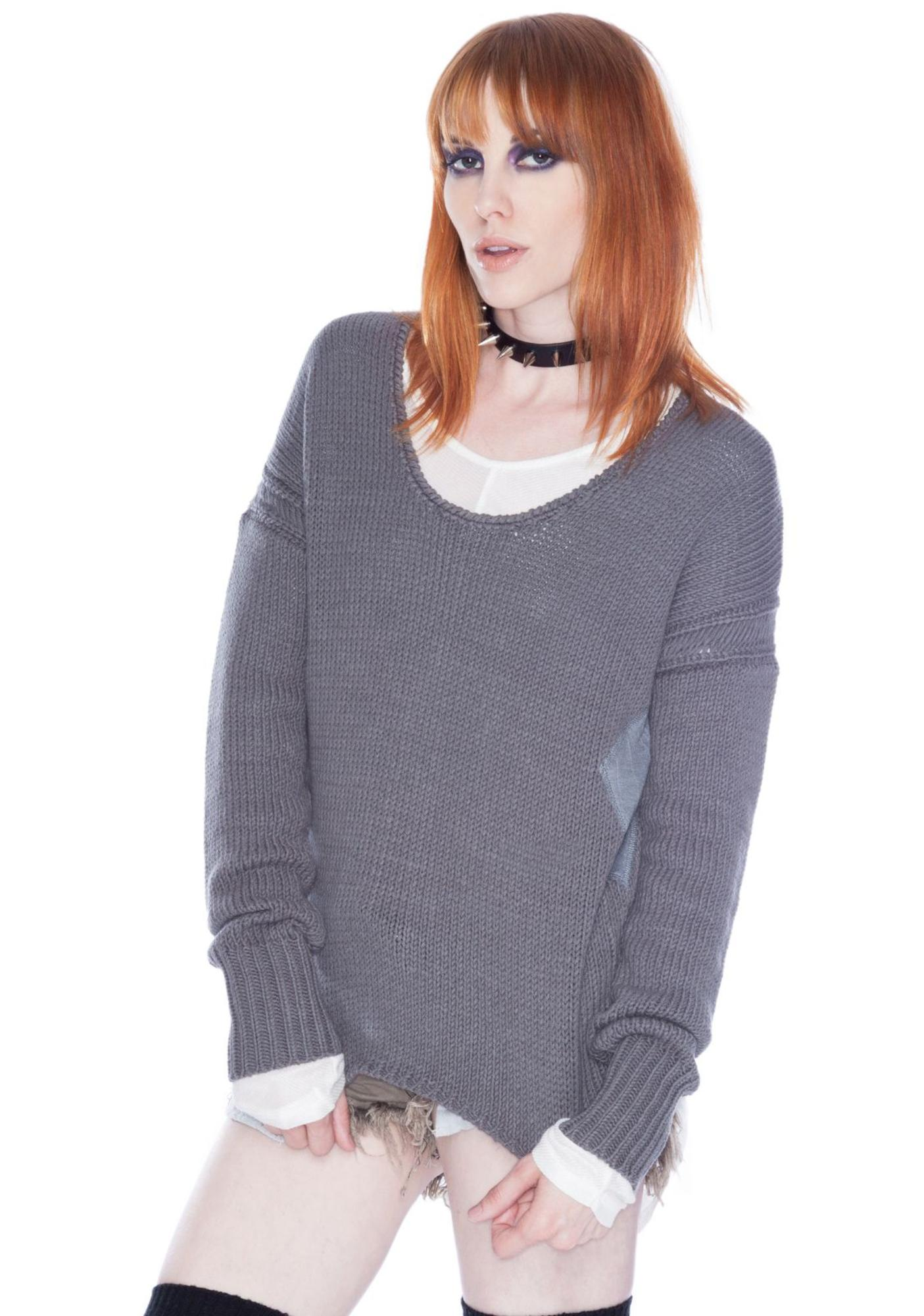 One Teaspoon Cross Hatch Jumper