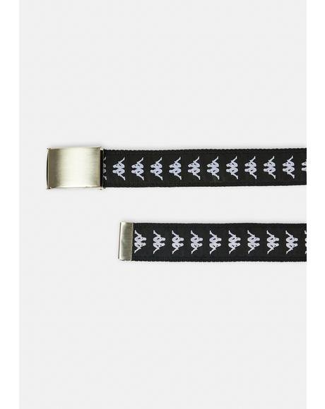 222 Banda Placket Web Belt