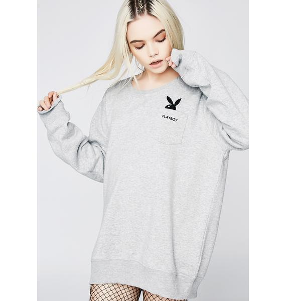 Vintage 90s Rare Playboy Bunny Sweatshirt