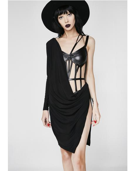 Wicked Games Cage Dress