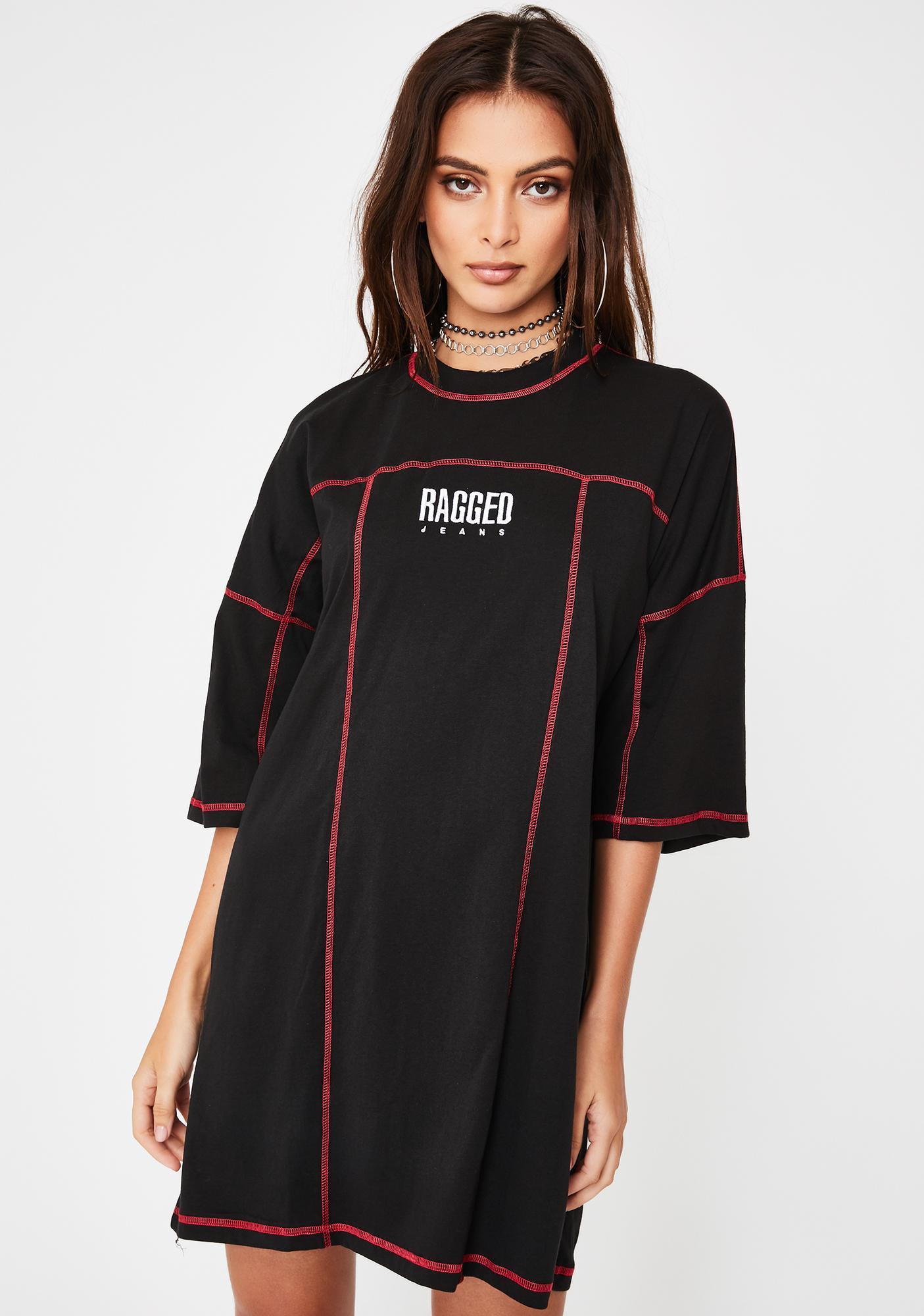 The Ragged Priest Infra Skater Tee Dress