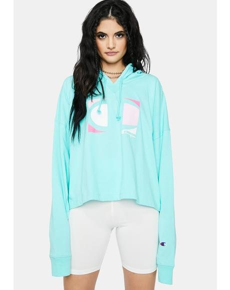 Sea Summer Sweats Oversized Hoodie