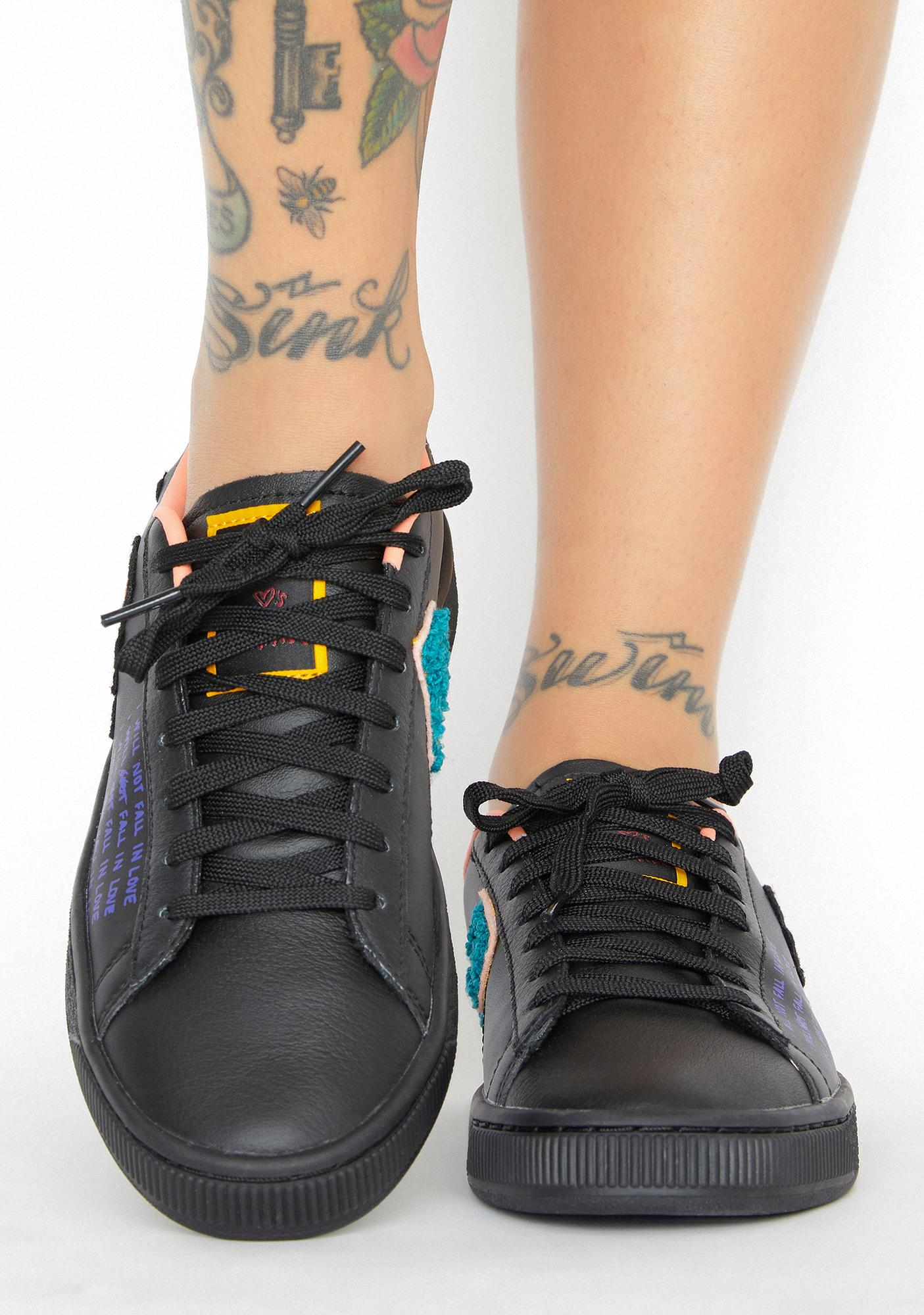 PUMA X Sue Tsai Basket Classic Sneakers