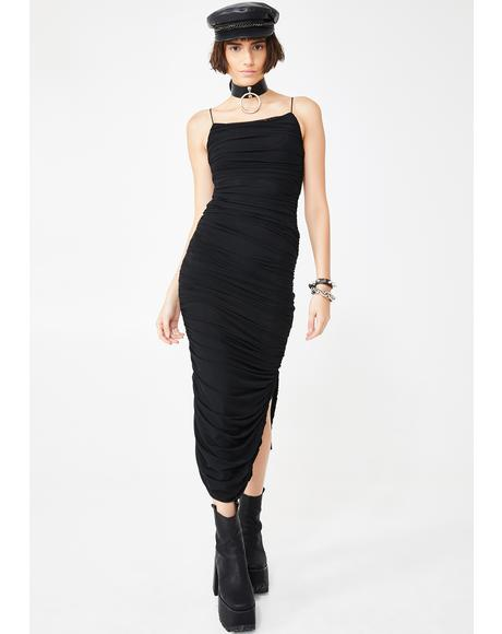 Certified Sassy Midi Dress