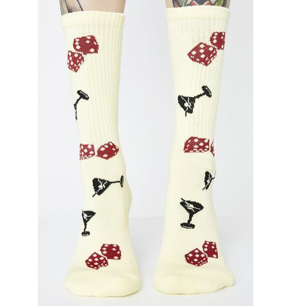 HUF Sunny Rolling Socks