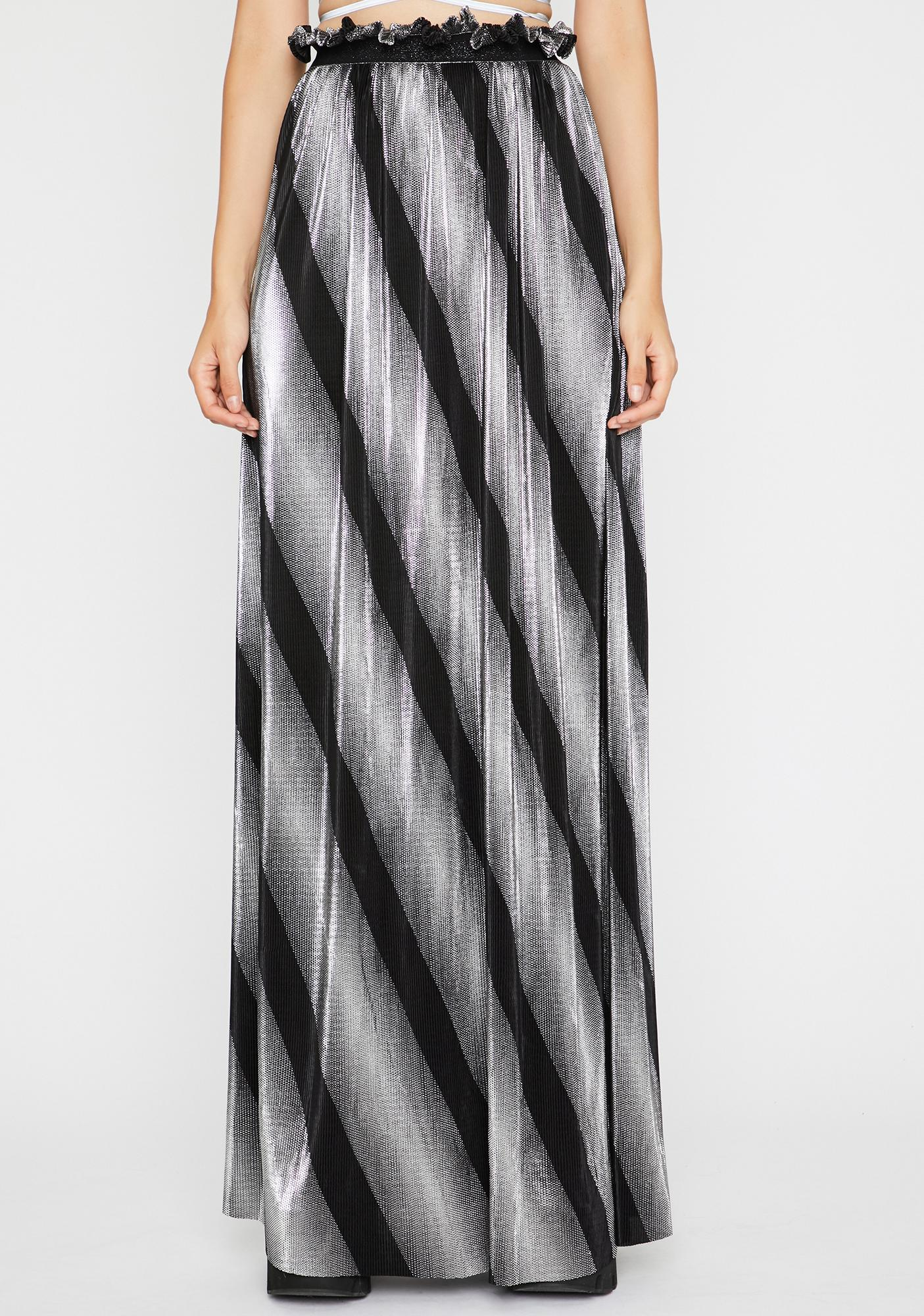 Chrome Dimensional Barbarian Skirt