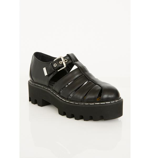 Lamoda Wicked Head Rush Chunky Sandals