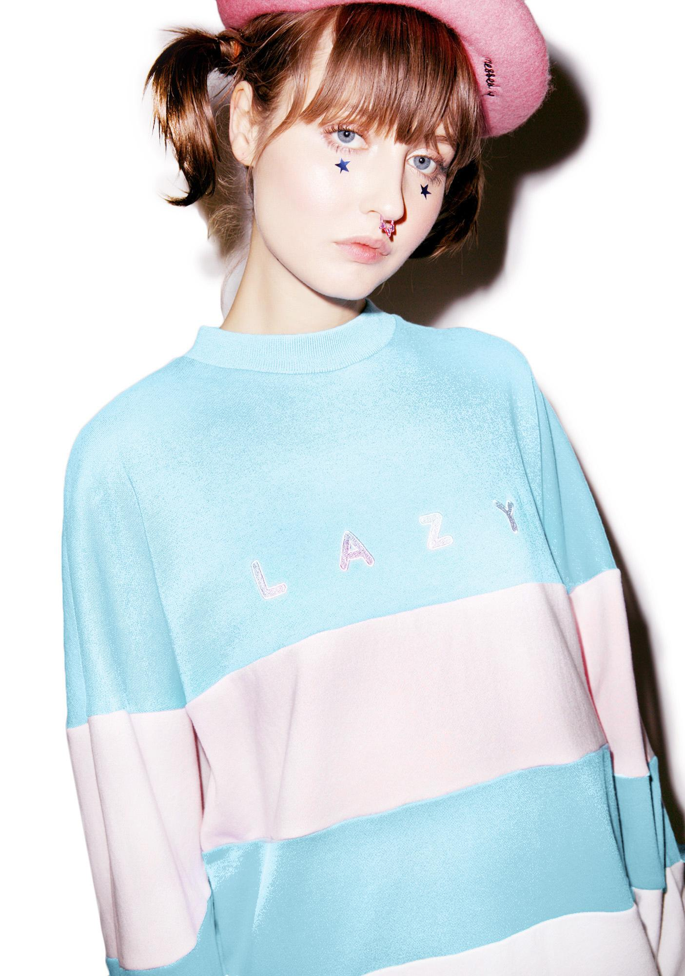 Lazy Oaf Lazy Stripe Sweatshirt