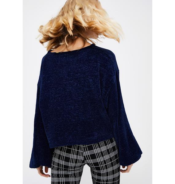 Deep Thinkin' Knit Sweater