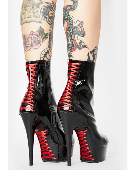 Wicked Tease Stiletto Boots
