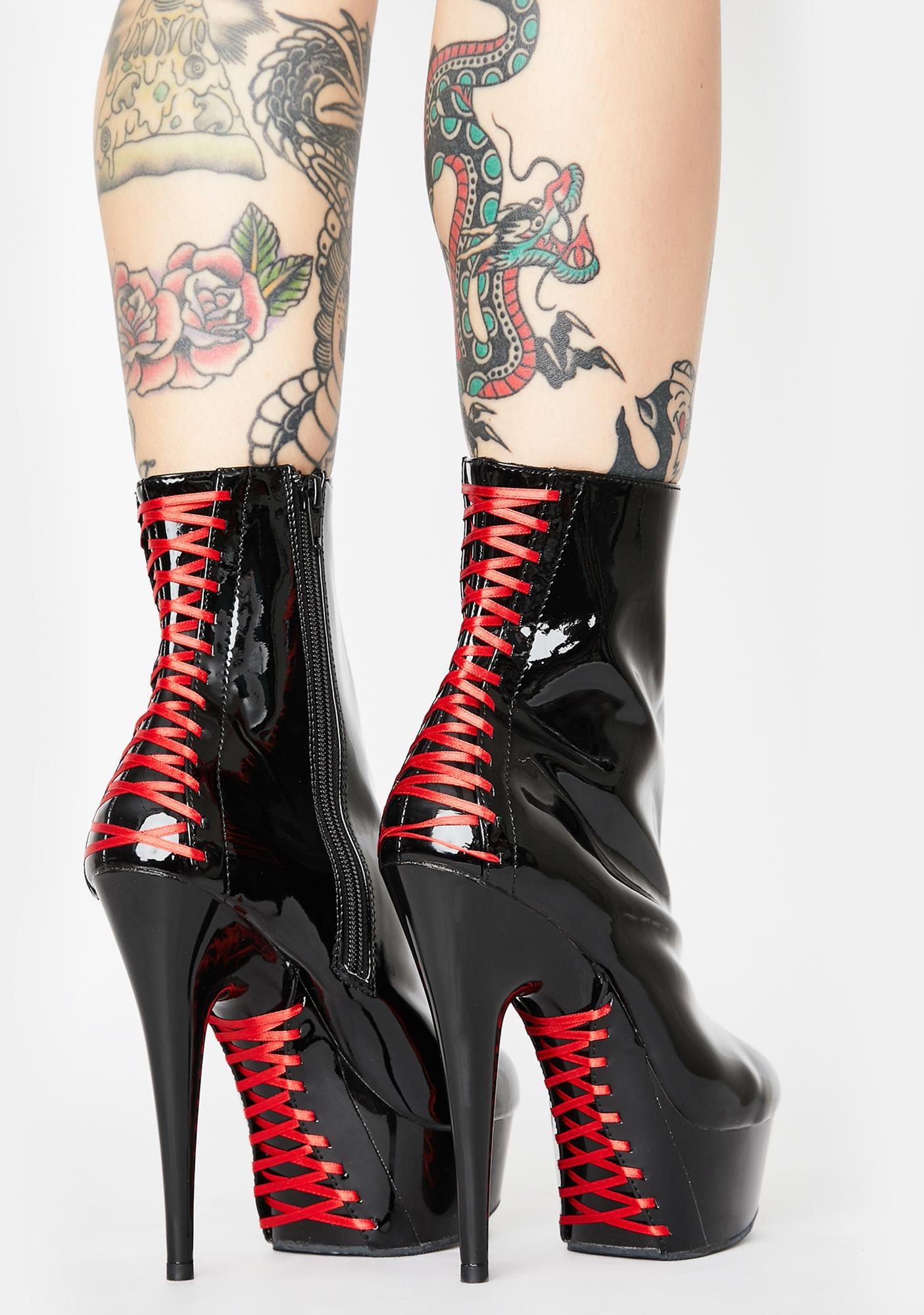 Pleaser Wicked Tease Stiletto Boots