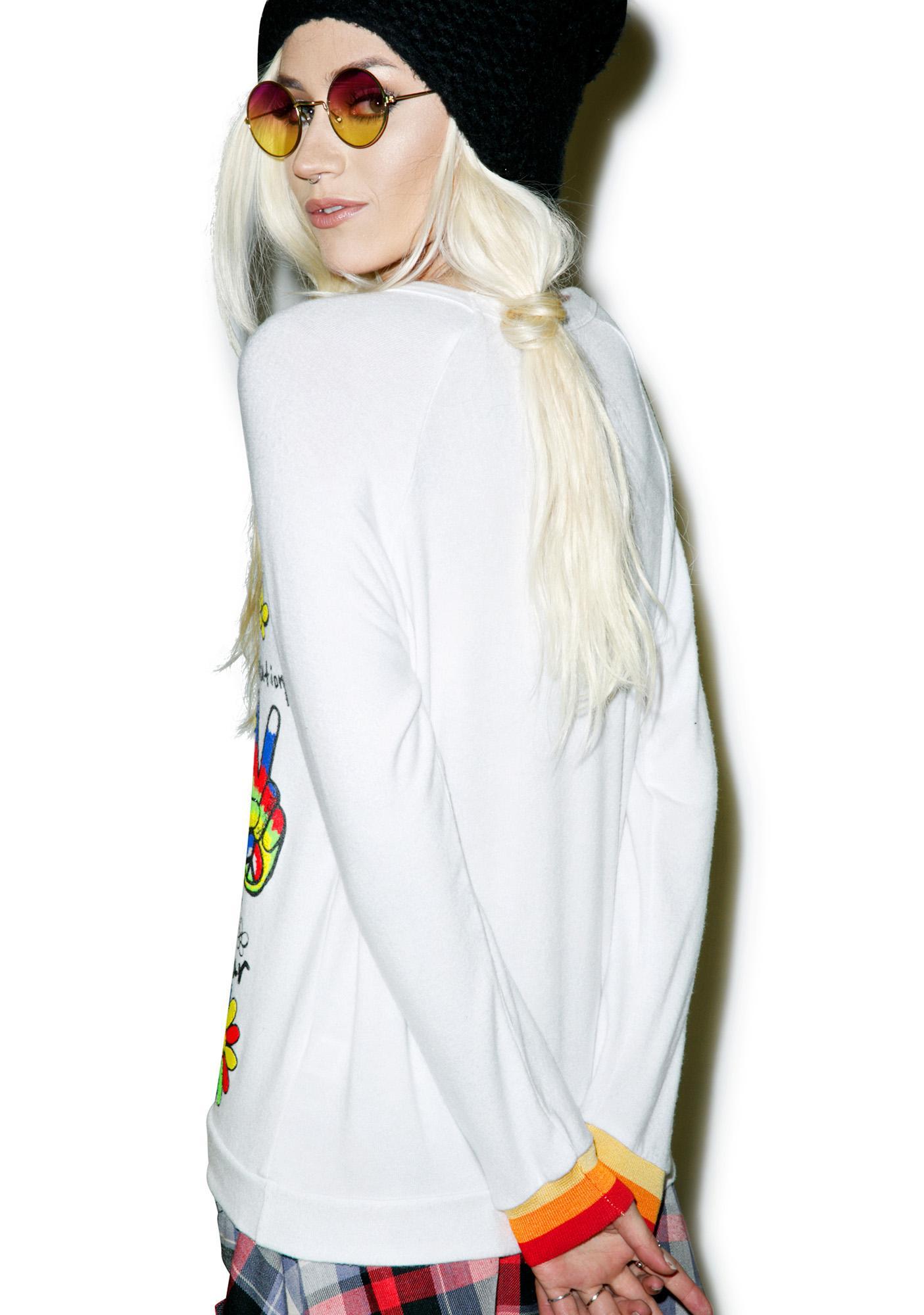 Lauren Moshi Good Vibes Pullover