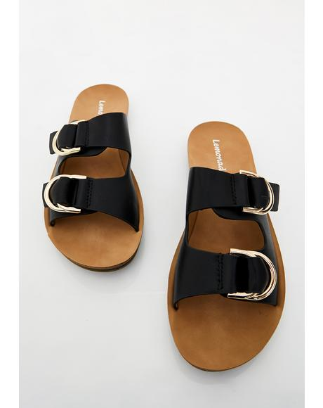 Wicked Sand Surfer Buckle Slides