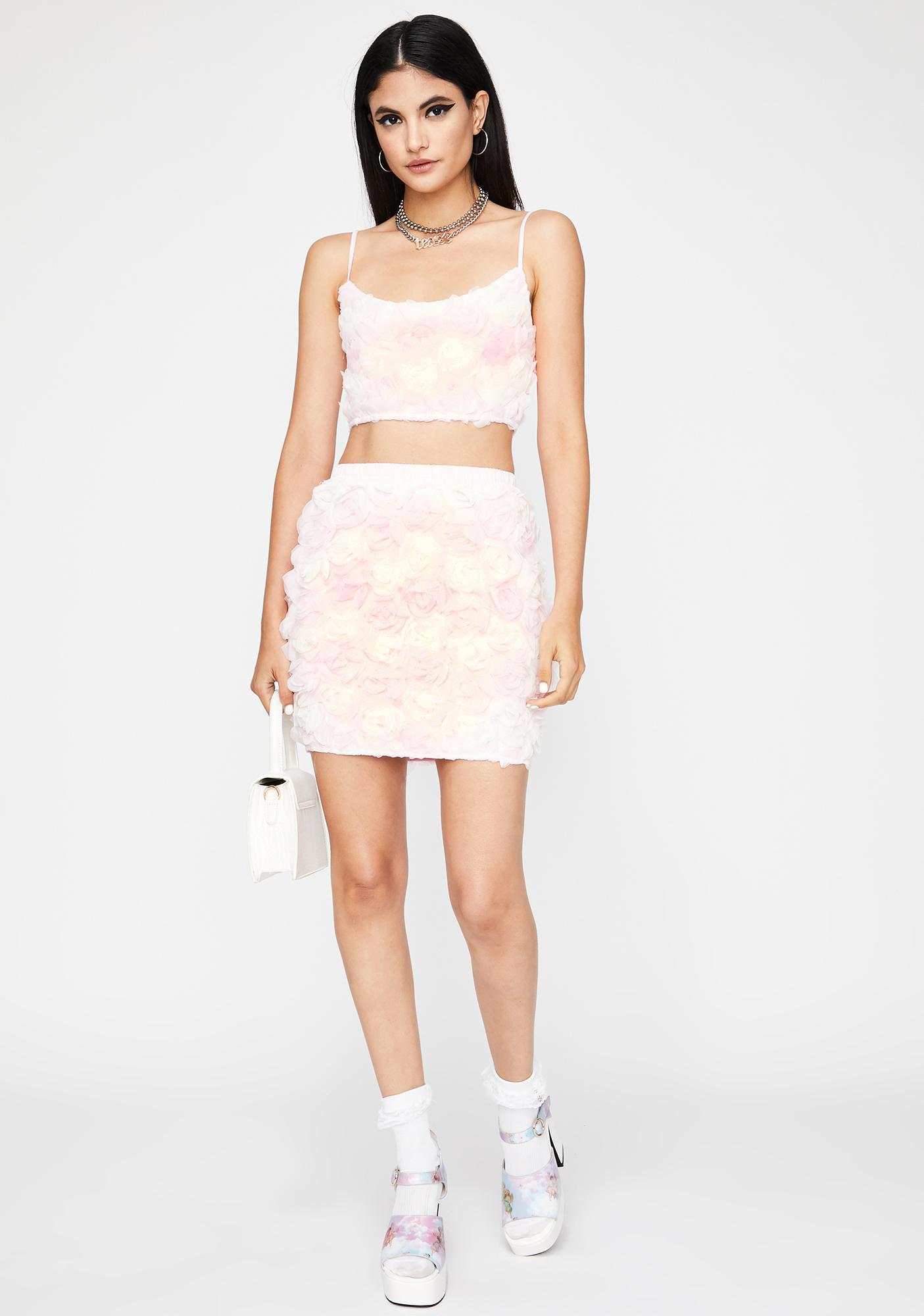 Rose Above Skirt Set