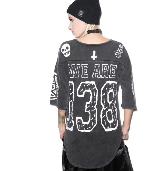 Too Fast We Are 138 Savage Football Top