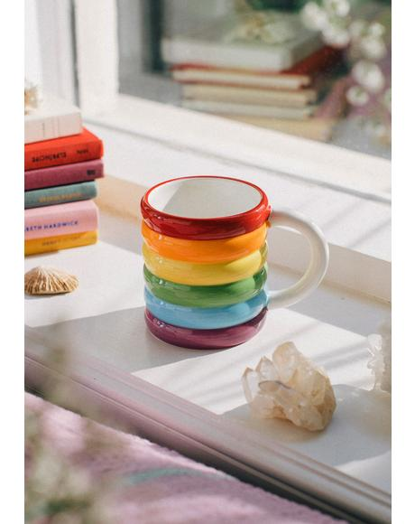 Better Days Rainbow Mug