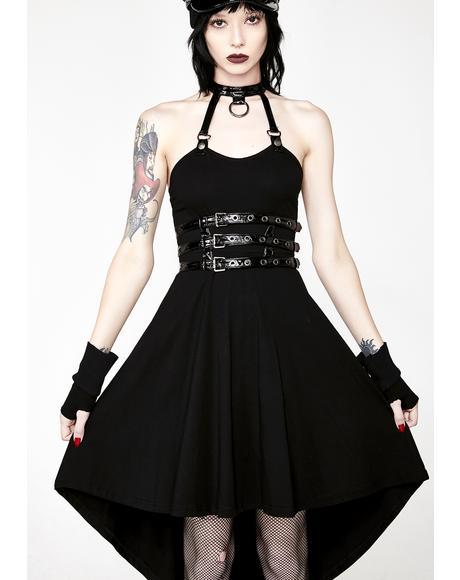 Punk Spine Shaped Dress