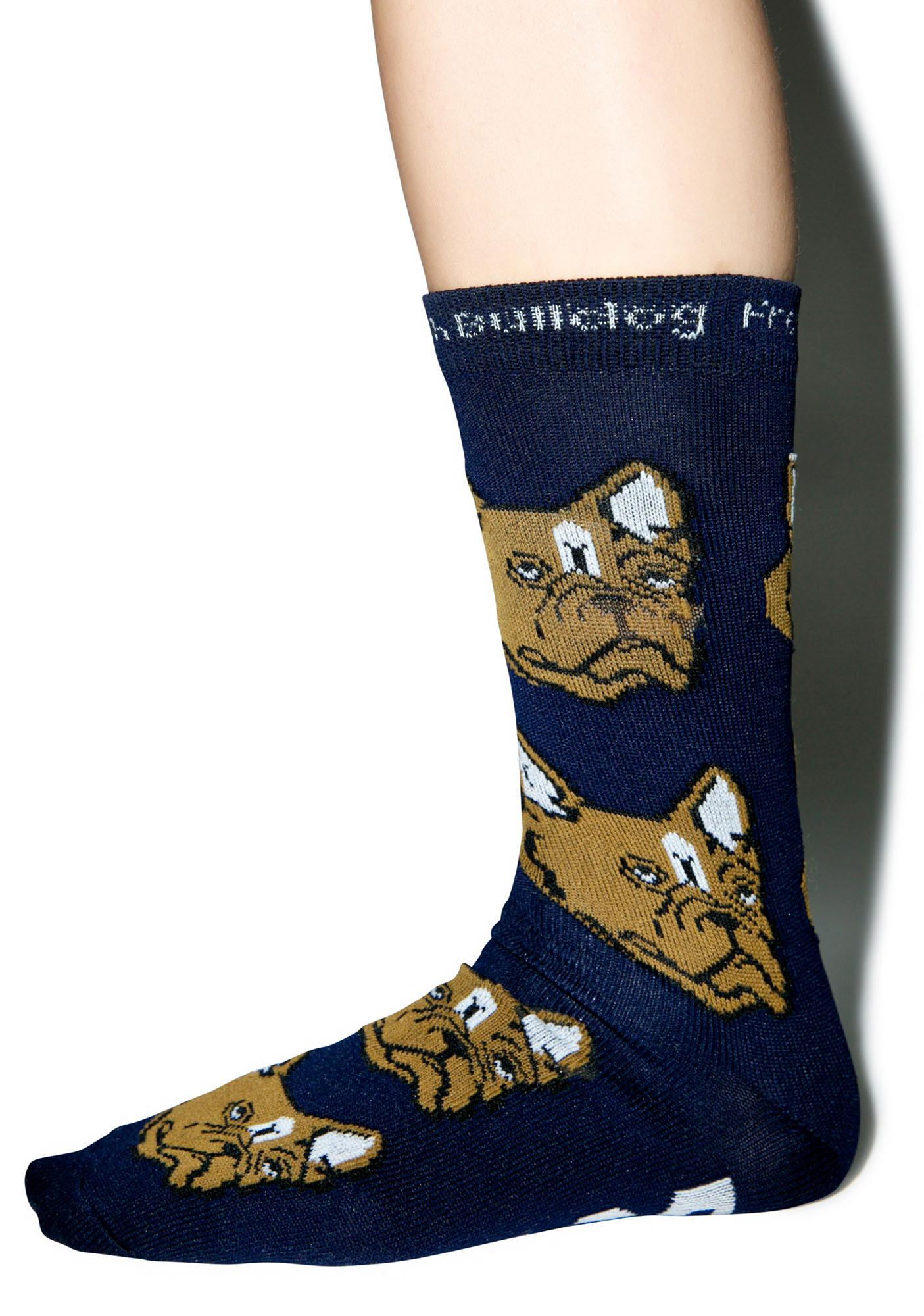 Dog LTD. French Bulldog Socks
