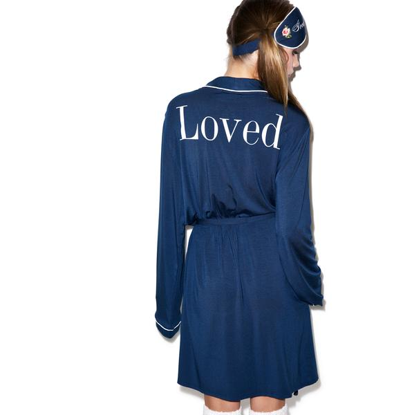 Wildfox Couture Loved Never Get Dressed Robe