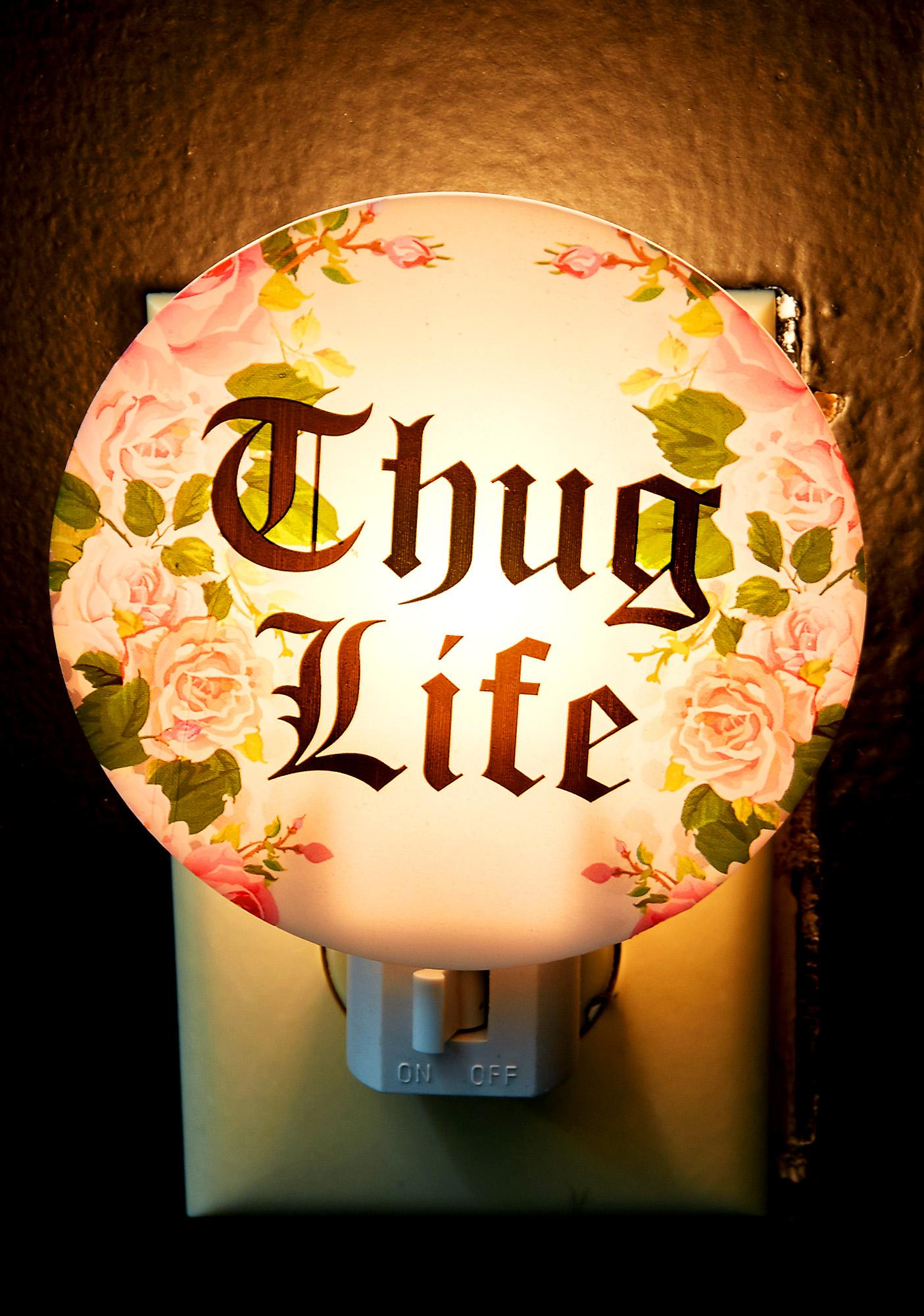 Thug Life Night Light
