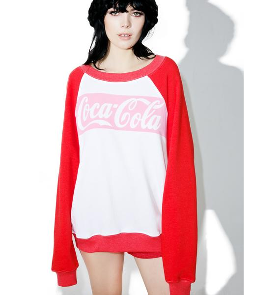 Wildfox Couture Coca-Cola Classic Sommer's Sweater