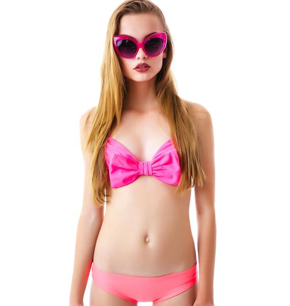 Lolli Swim Pick Me Cheeky Bow Bottom